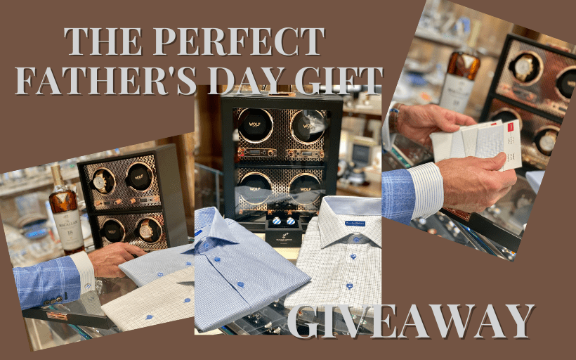 THE PERFECT FATHER'S DAY GIFT GIVEAWAY