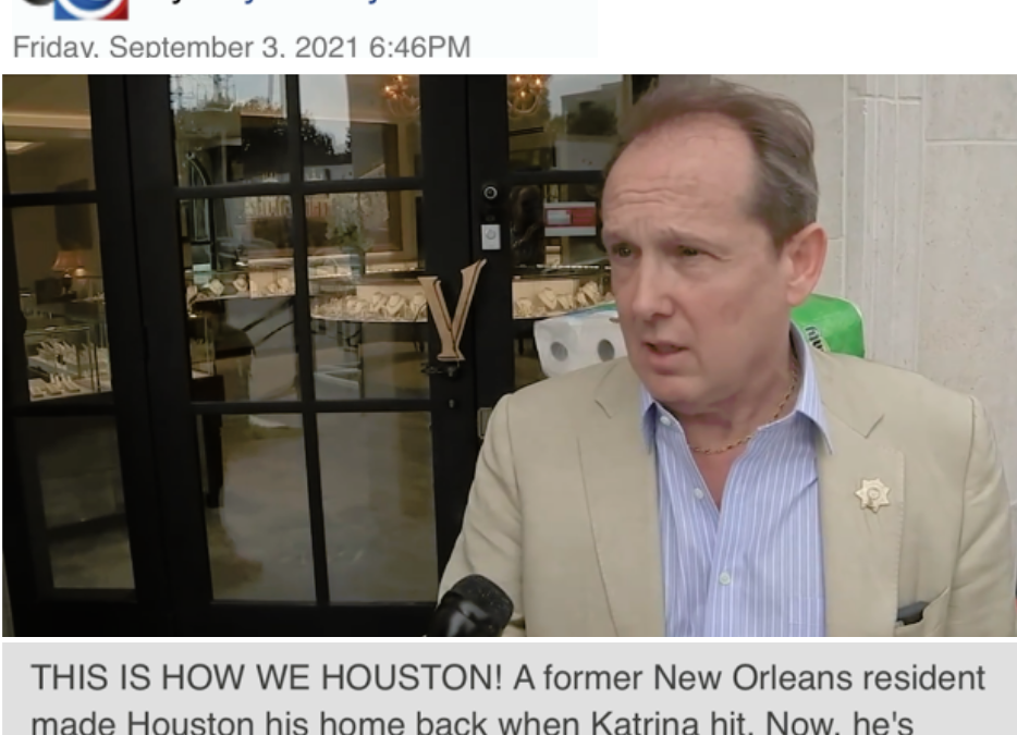 Houston Jewelry Store Owner Sets Up Hurricane Ida Relief Effort – ABC13 News Report